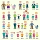 Family Icons Set - GraphicRiver Item for Sale