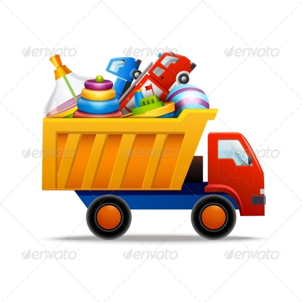 GraphicRiver Toys in Truck 8688955