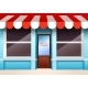 Empty Store Front - GraphicRiver Item for Sale