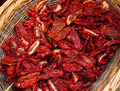 Dried chillies in the threshing basket - PhotoDune Item for Sale