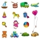 Toys Sketch Icons Set - GraphicRiver Item for Sale