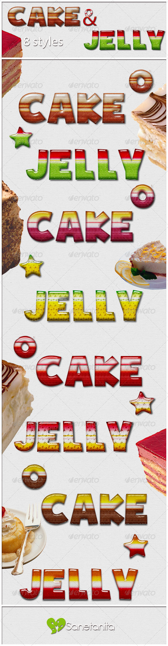 GraphicRiver 8 Dessert Styles 8688994