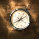 Compass on Wooden Background - GraphicRiver Item for Sale