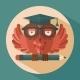 Owl in Graduation Cap - GraphicRiver Item for Sale