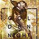 Golden Night Flyer Template - GraphicRiver Item for Sale