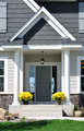 Front Entrance of a Residential Home