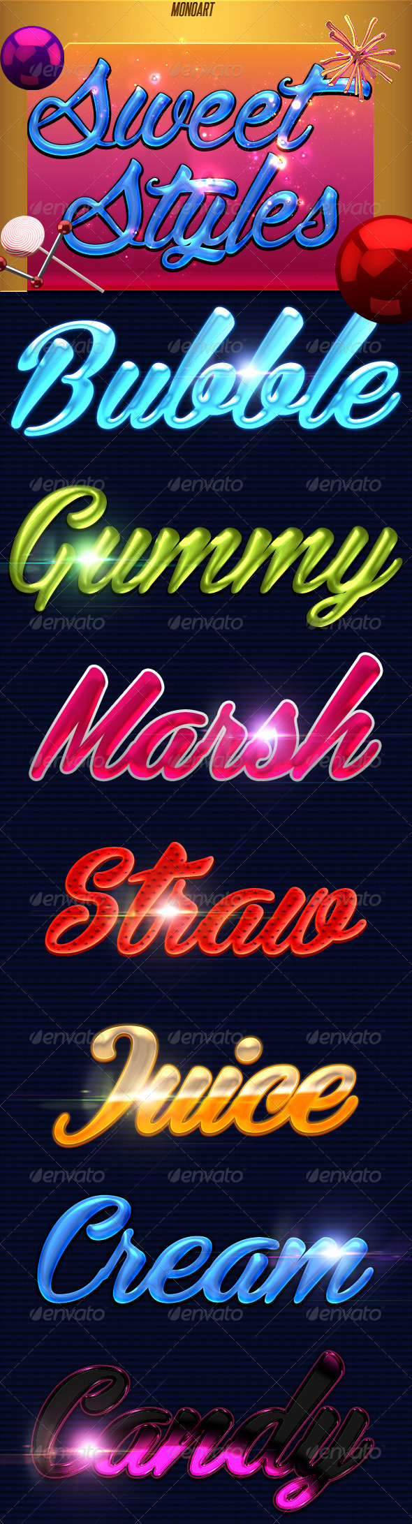 GraphicRiver Sweet Styles 8689585