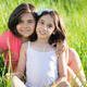Portrait of two hispanic teen girls - PhotoDune Item for Sale