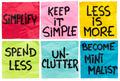 simplify concept note set - PhotoDune Item for Sale