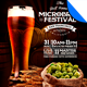 Microbrew Beer Festival Poster Flyer Template - GraphicRiver Item for Sale