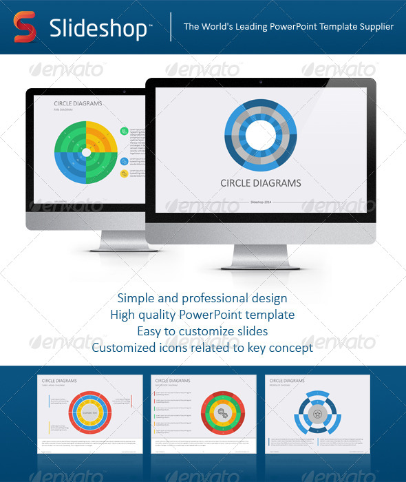GraphicRiver Circle Diagram Flat 8694534
