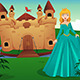 Princess in Front of Her Castle - GraphicRiver Item for Sale