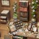 Handmade toy fake interior detail view - PhotoDune Item for Sale