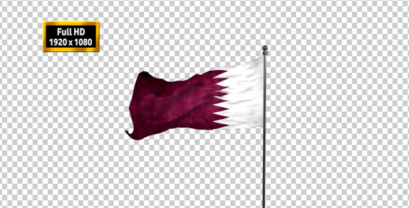 Qatar Flag By Altaher Videohive