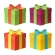 Gift Boxes Vector Set - GraphicRiver Item for Sale