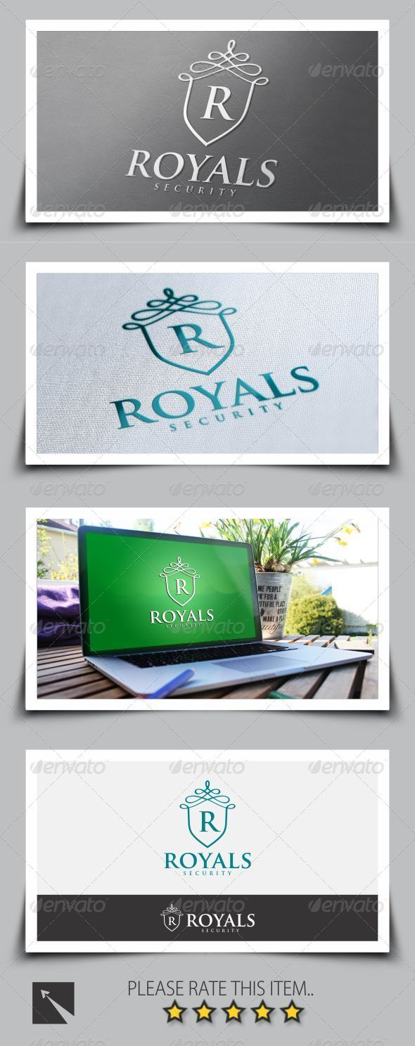 GraphicRiver Royal Security Logo Template 8696343
