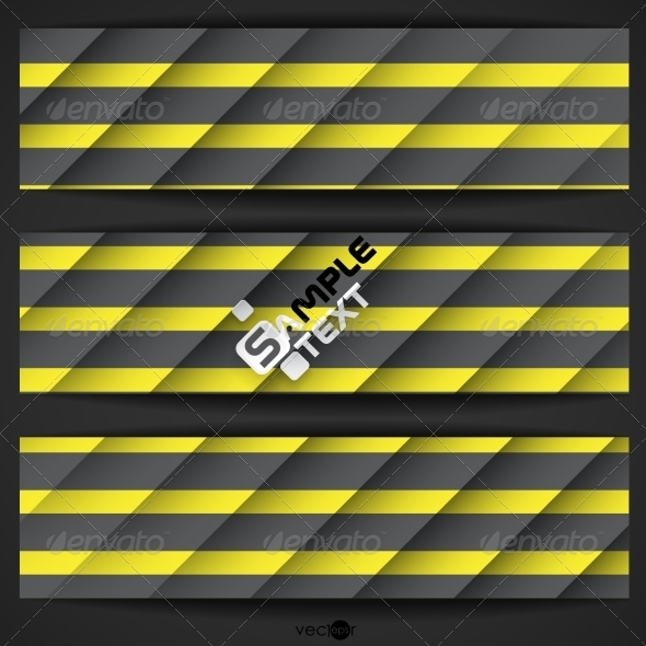 GraphicRiver Black And Yellow Striped Background 8696461