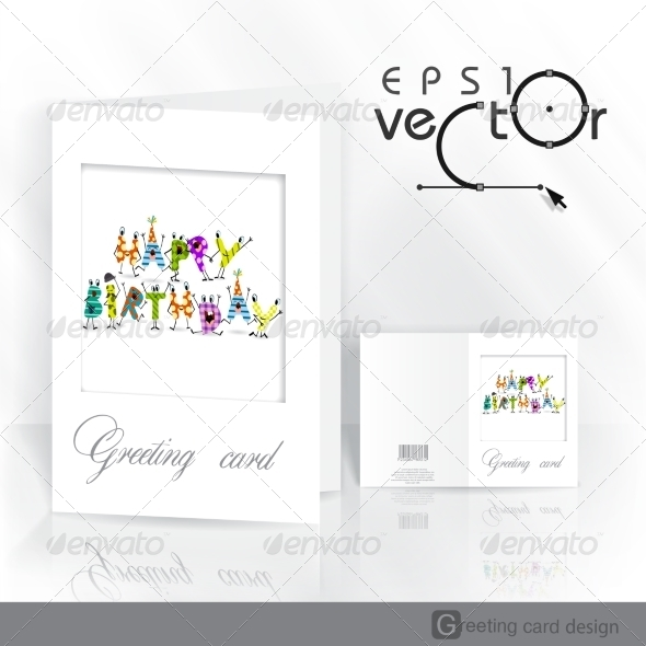 GraphicRiver Greeting Card Design Template 8696489