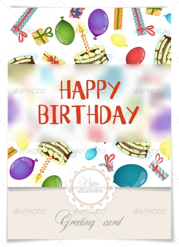 GraphicRiver Greeting Card Design Template 8696497