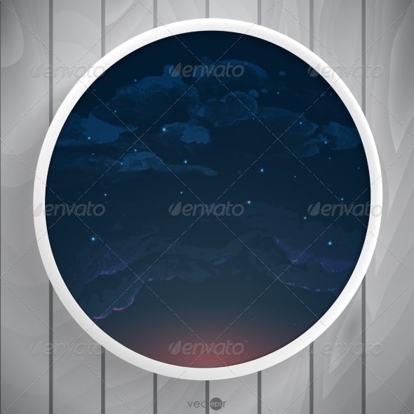 GraphicRiver Abstract Round Shape With Frame 8696504