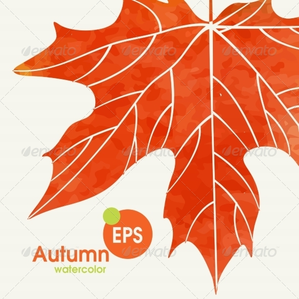 GraphicRiver Simple Autumn Background 8696522