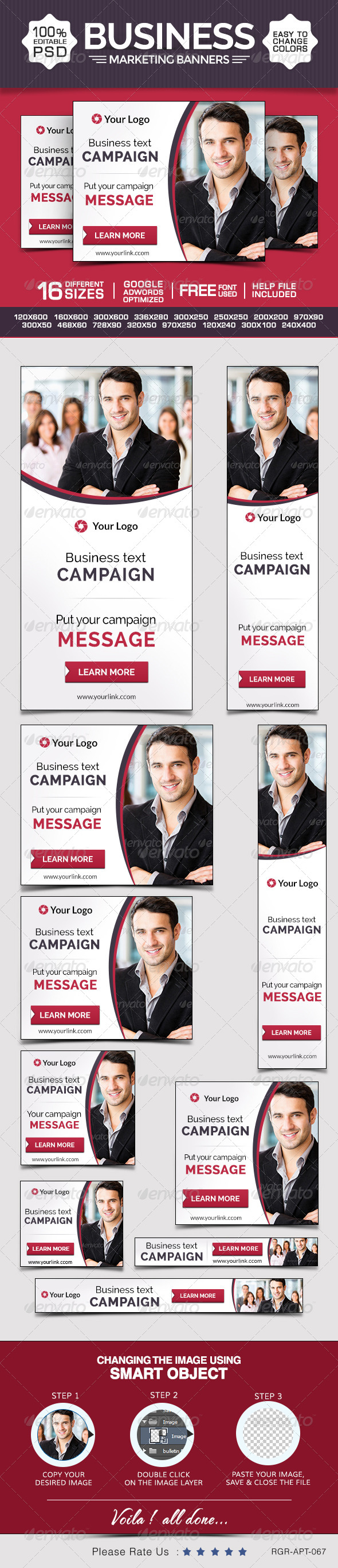 GraphicRiver Business & Marketing Banners 8696575
