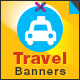 Travel & Tourism Banners - GraphicRiver Item for Sale