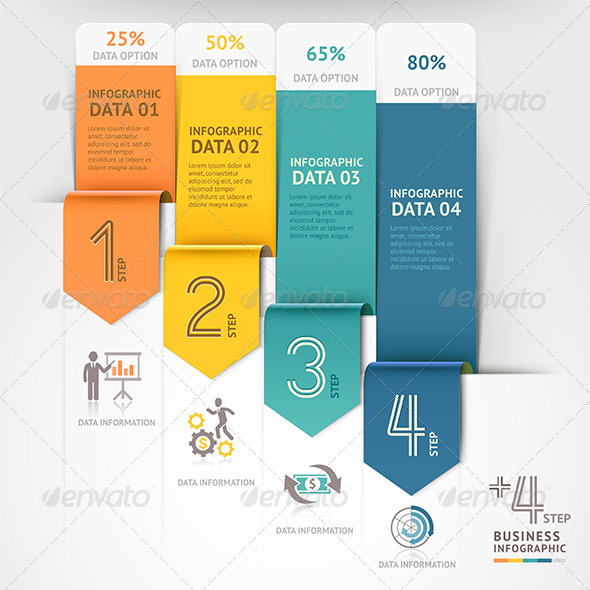 GraphicRiver Business Arrow Infographics Template 8696614