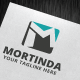 Mortinda Logo Template - GraphicRiver Item for Sale
