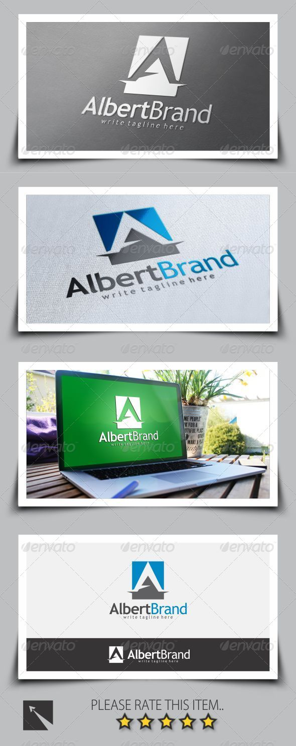 GraphicRiver Letter A Logo Template 8696677