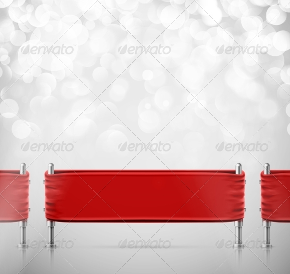 GraphicRiver Stanchions Barrier 8696730