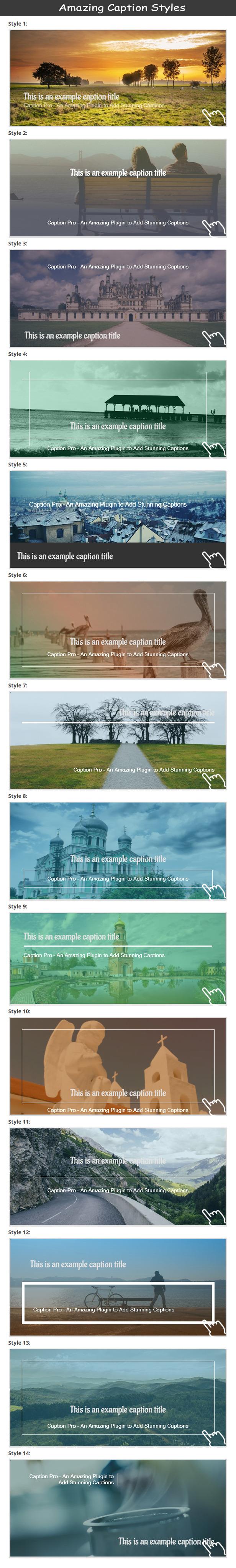 Caption Pro – Image Caption Wordpress Plugin