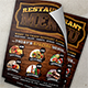 Texas Restaurant Flyer - GraphicRiver Item for Sale
