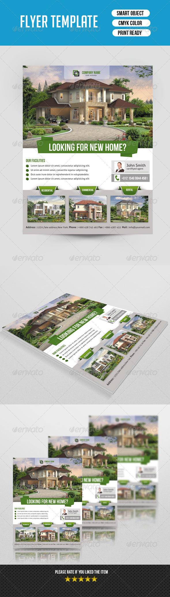 GraphicRiver Real Estate Flyer Template-V118 8646786