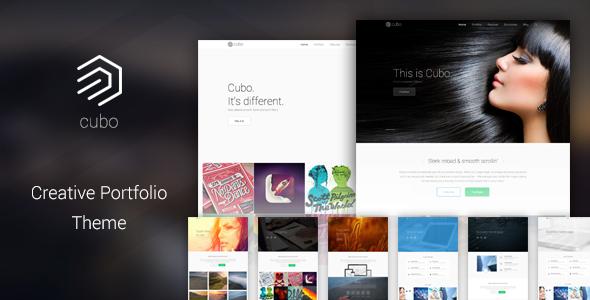 Cubo - Creative Portfolio Theme - Portfolio Creative