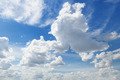 cumulus clouds in the blue sky - PhotoDune Item for Sale