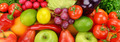 background of ripe fruit and vegetables - PhotoDune Item for Sale