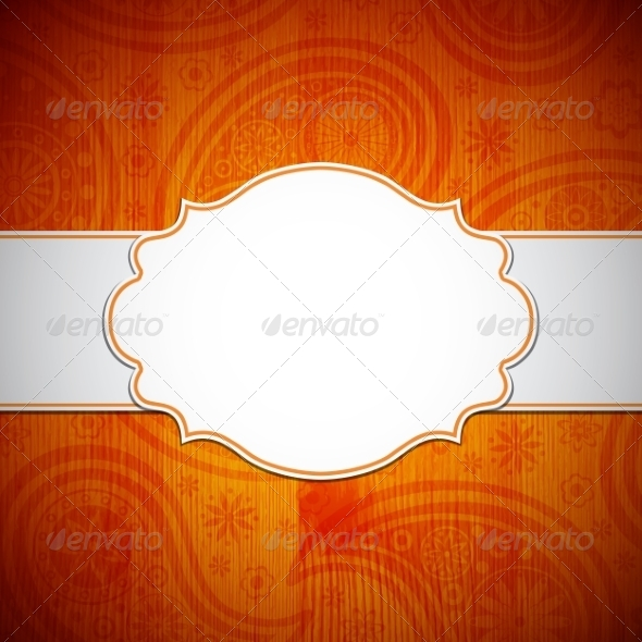 GraphicRiver Frame in the Indian Style 8698700