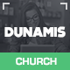 Dunamis - Modern Church theme - ThemeForest Item for Sale