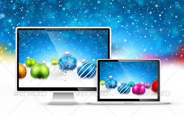 GraphicRiver Christmas Devices 8626700