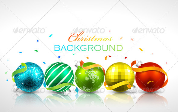 GraphicRiver Christmas Background 8631994