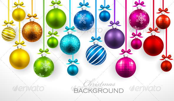 GraphicRiver Christmas Background 8632005