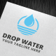 Drop Water Logo Template - GraphicRiver Item for Sale