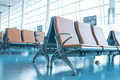 Empty Chair in airport - PhotoDune Item for Sale