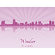 Windsor Skyline - GraphicRiver Item for Sale