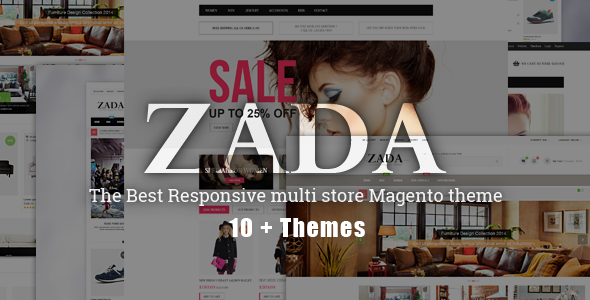 ZADA - Ultimate Responsive Magento Theme - Fashion Magento
