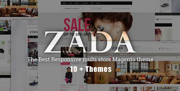 ZADA Ultimate Responsive Magento Theme