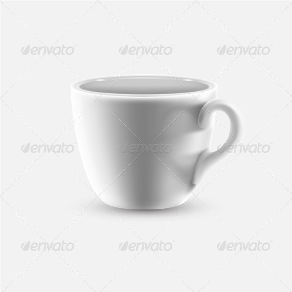 GraphicRiver White Coffee Cup 8711581