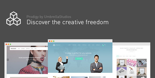 Prodigy - Impressive Multi-Purpose WordPress Theme