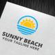 Sunny Beach Logo Template  - GraphicRiver Item for Sale